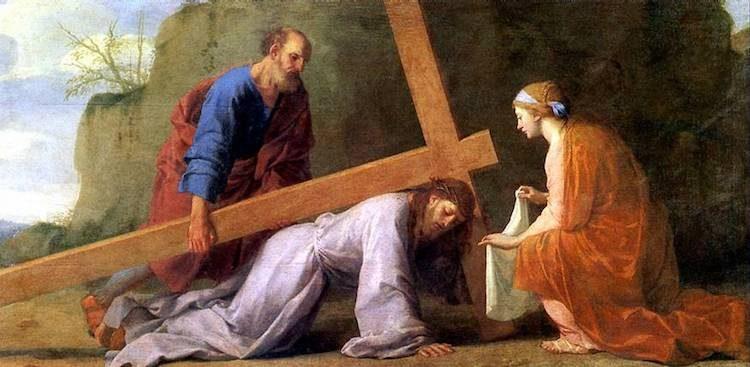 ЛЕСЮЭР ЭСТАШ, Несение креста