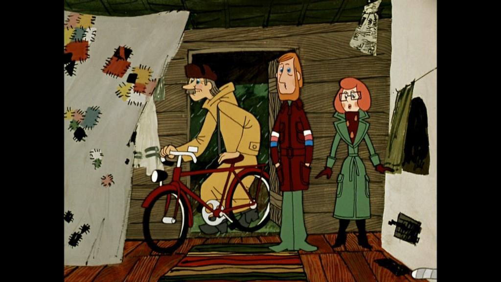 родители Дяди Федора и Печкин с велосипедом, Теория поколений