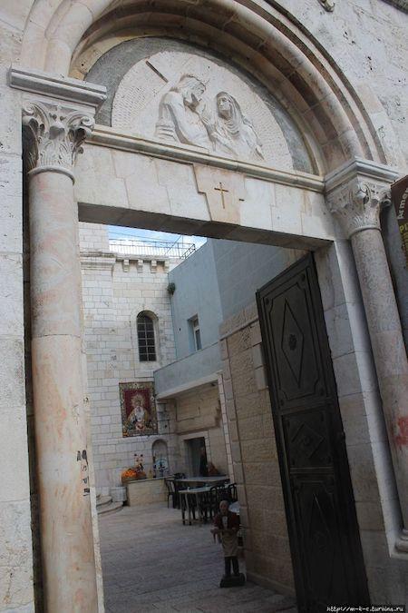 Иерусалим, виа Долороза, церковь Скорбящая мать