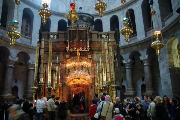 Сердце Храма Гроба Господня, Кувуклия, Иерусалим