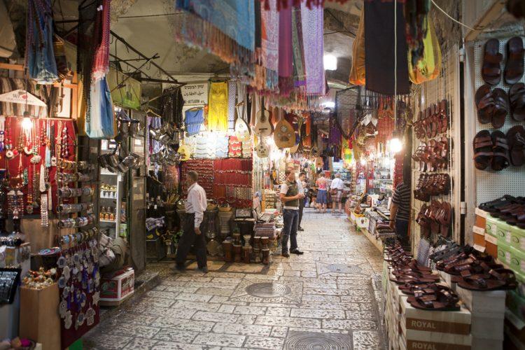 Via Dolorosa, Крестный путь Христа, Пасха, Голгофа, восточный базар