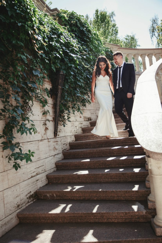 Свадьба, влюбленная пара