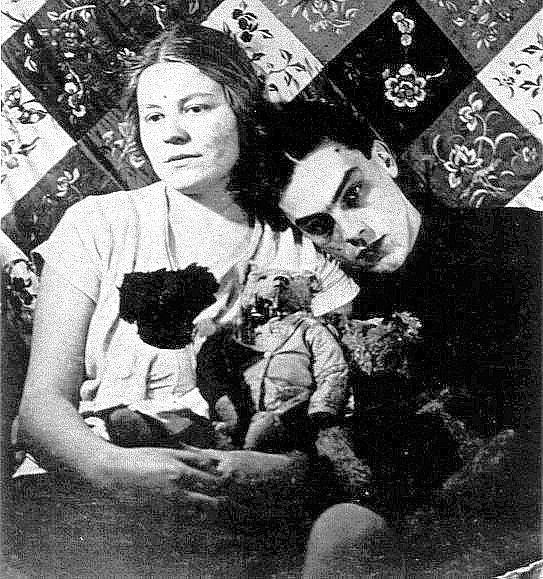 Арсений Тарковский с женой