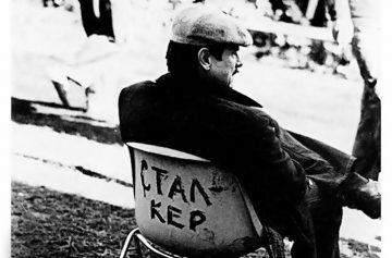 Тарковский, Андрей Тарковский, биография Тарковского, Тарковский в кресле режиссера, съемки фильма Сталкер