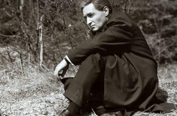 Вячеслав Тихонов Штирлиц сидит на траве