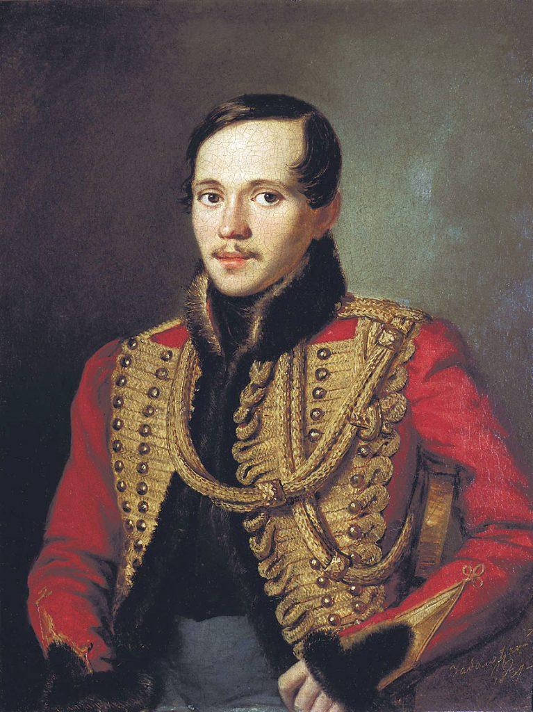 портрет Михаила Лермонтова