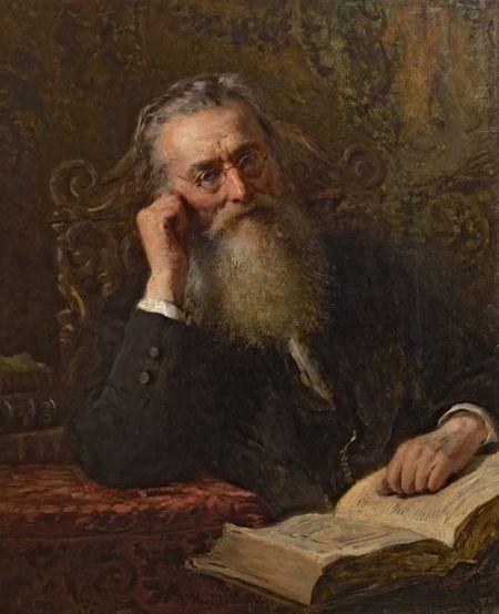 маковский, портрет костомарова