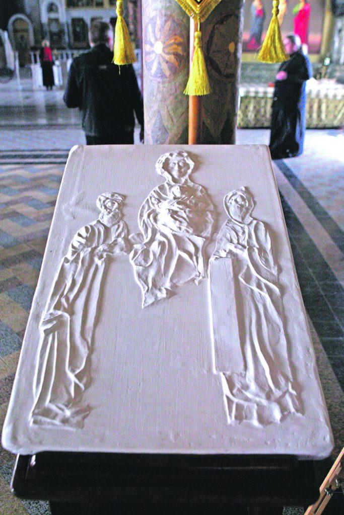 рельеф икона Божией Матери Свенская (Печерская), уникальные иконы