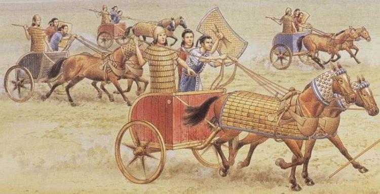 Хеттская колесница