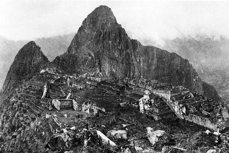 Мачу Пикчу в 1912 г.