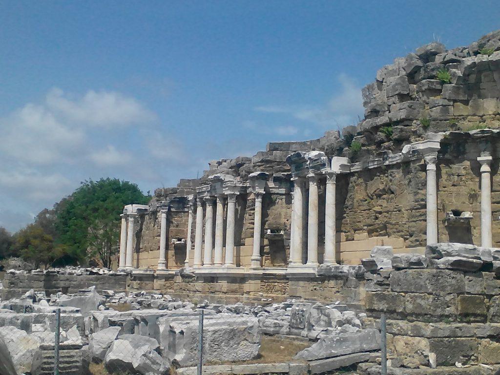 Вход в древний город, Анталья