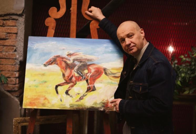 Георгий Делиев и его картина