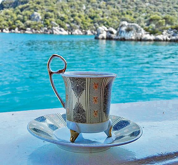 кофе по-турецки, Анталья