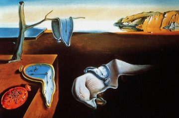 Сюрреализм часы память