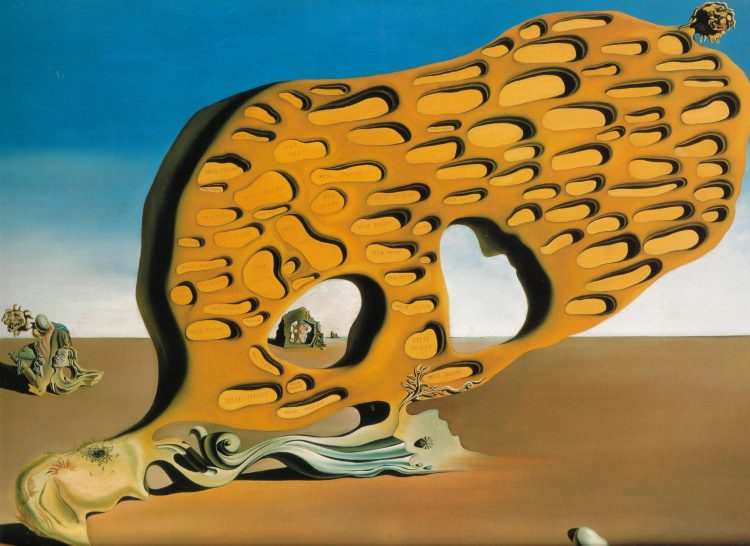 картина, сюрреализм, Дали, Загадка желаний, Сальвадор Дали