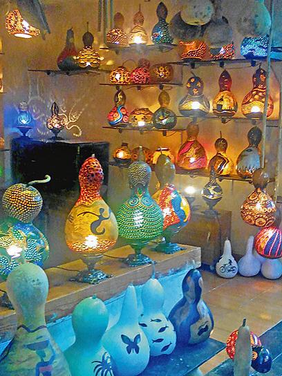 Анталья, рынок, декоративные лампы
