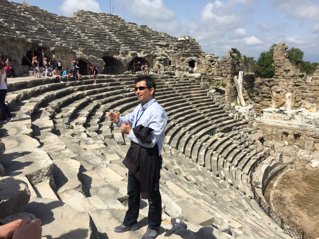 античный театр Турция, Анталья