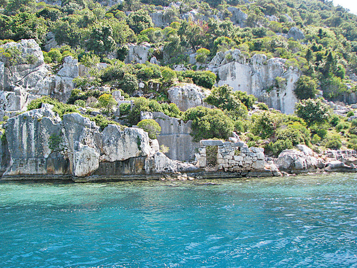 Затонувший город Турция, Анталья
