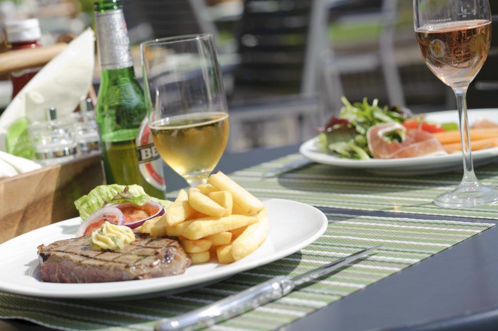 Jumeirah-Lowndes-Hotel, Terrace, стейк, лондон, steak