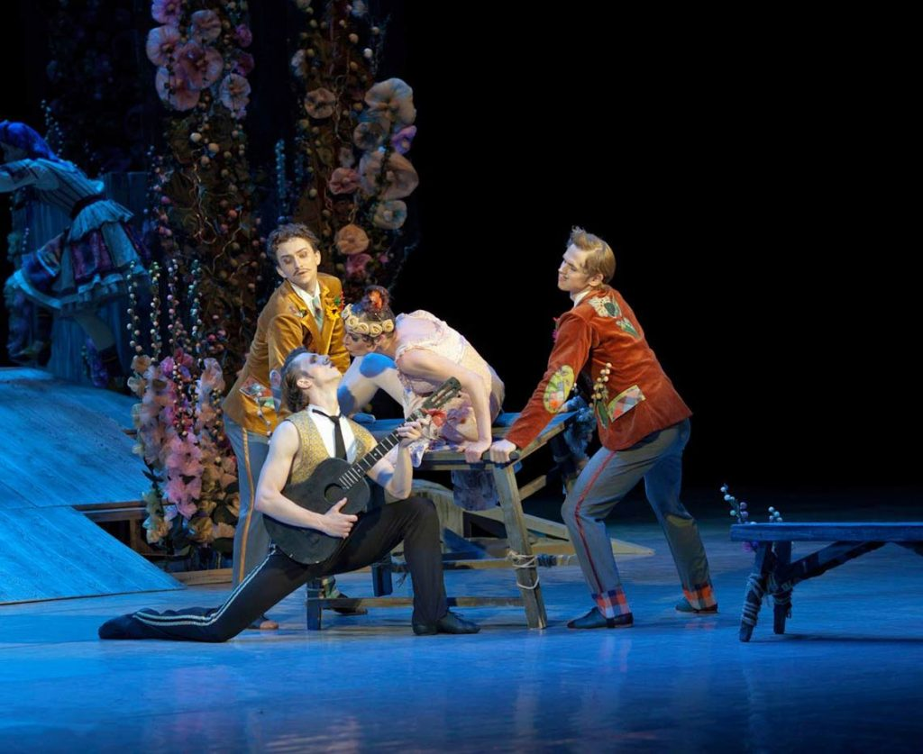 Национальная опера Украины премьера балета «За двумя зайцами»