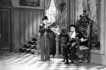 Чарли Чаплин съемки фильма