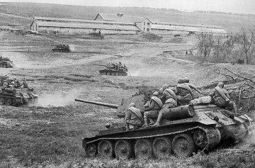 стихи о войне, Вторая мировая война, танкисты