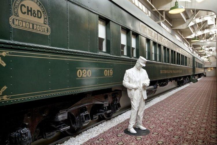 Необычные отели мира, старый поезд, отель в поезде