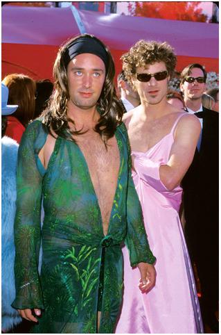 Паркер и Стоун в платье, Южный Парк