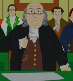 История Южного парка, сериал Южный Парк, сериал South Park, Бенджамин Франклин, Норман Лир