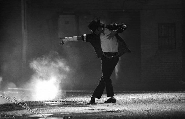 Майкл Джексон, лунная походка