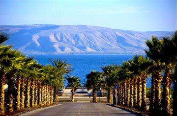 Израиль, озеро Киренет