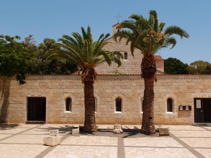 Израиль, Церковь Умножения Хлебов и Рыб, Табха