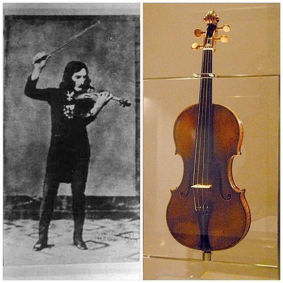Паганини, Вдова Паганини, скрипка Паганини, фото Паганини