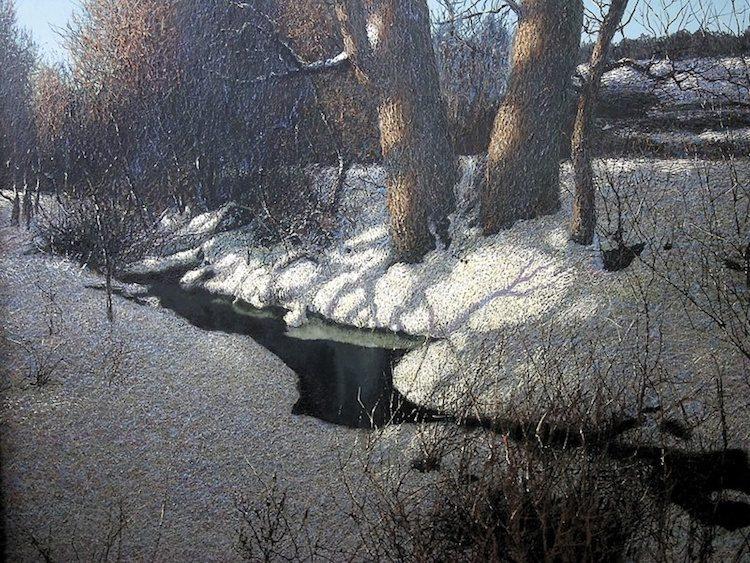 Иван Марчук, художник, картины, природа, гений, Весна уже в пути