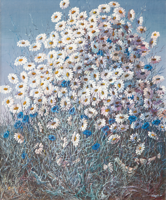 Иван Марчук, картины, ромашки, живопись