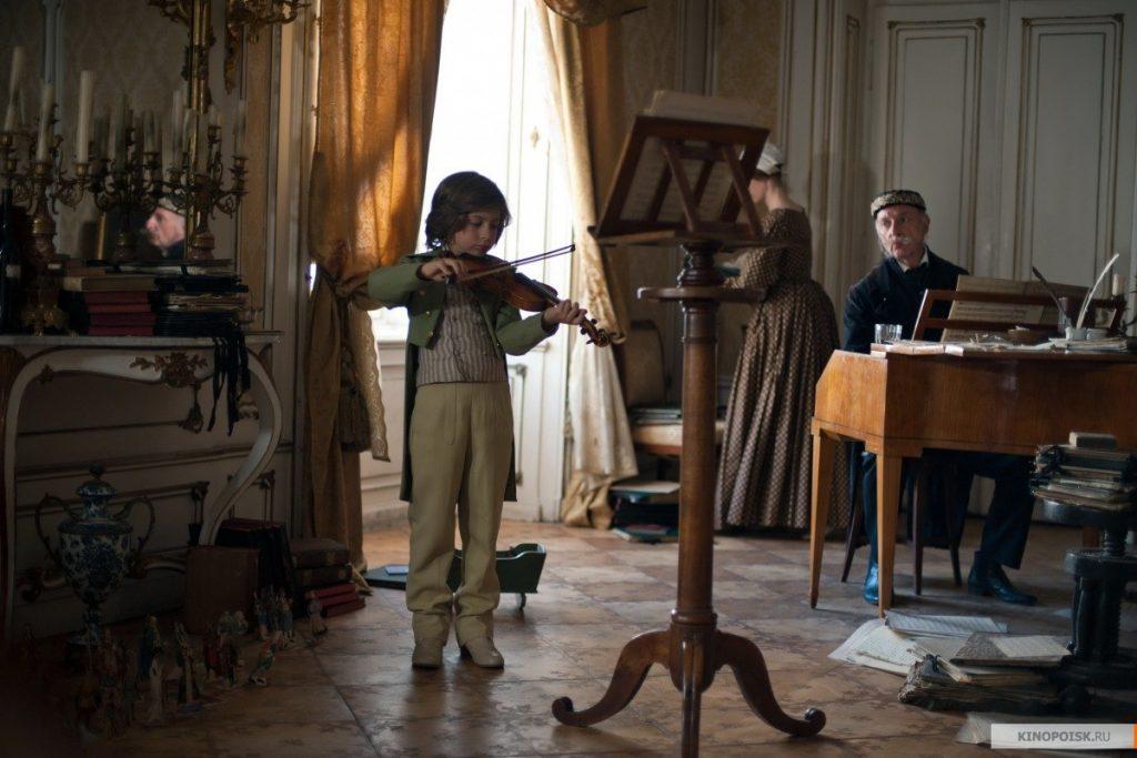 Паганини, детство Паганини, кадр из фильма, Паганини скрипач дьявола
