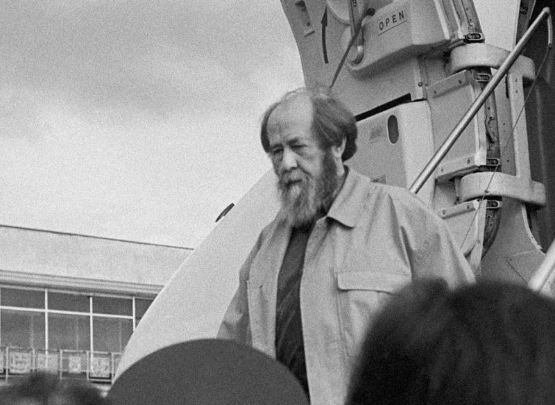 Солженицын возвращение в Россию