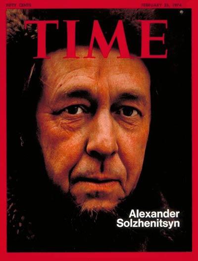 """Солженицын на обложке журнала """"TIME"""""""