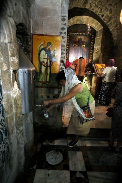 Источник Благовещения в Назарете, Назарет, святая вода