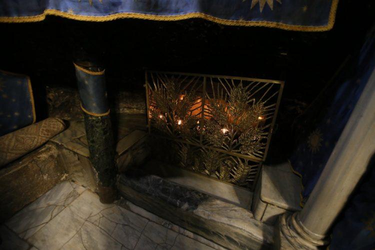 Храм Рождества Христова, Вифлеем, Рождество, ясли Христа