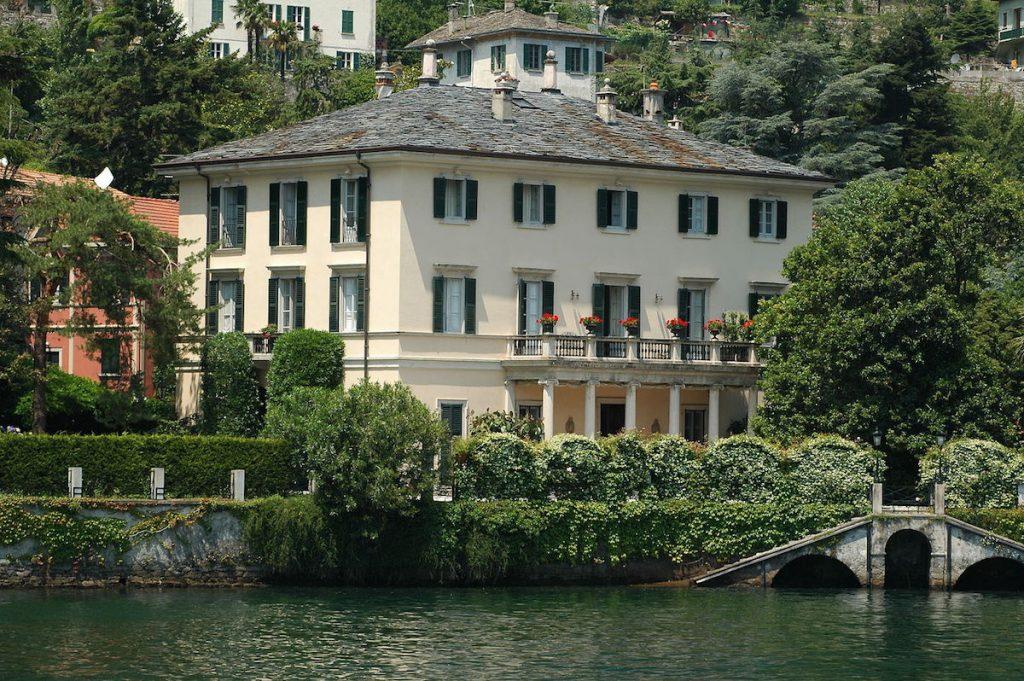 Джордж Клуни, вилла, озеро Комо, Италия