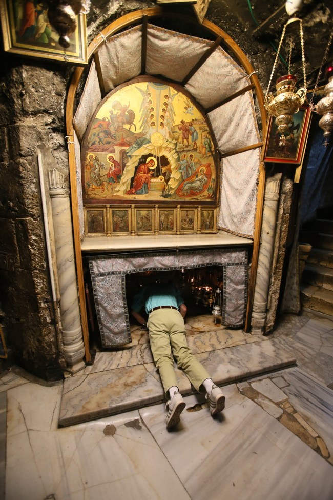 Вифлеем, пещерка Рождества Христова