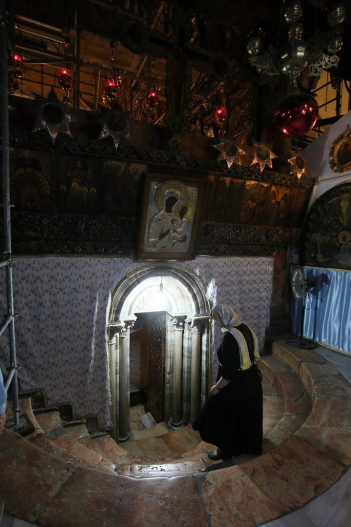 Вифлеем, пещерка Рождества