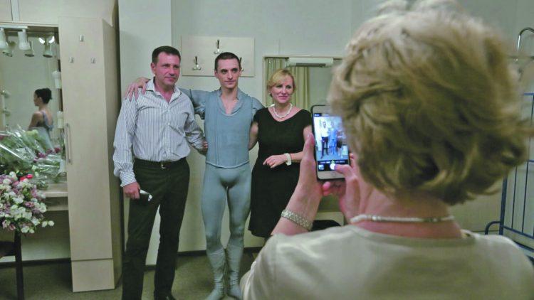 Сергей Полунин, родители, за кулисами, балет