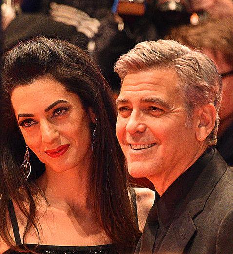 Amal Clooney, Джордж Клуни, Амаль Клуни