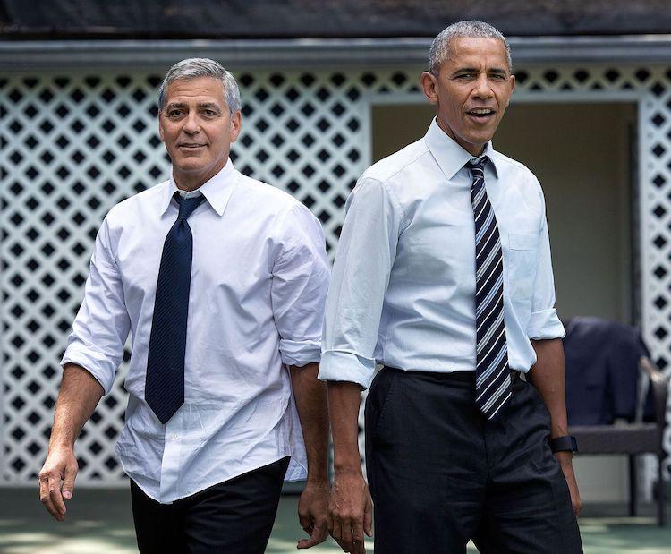 Джордж Клуни, Барак Обама