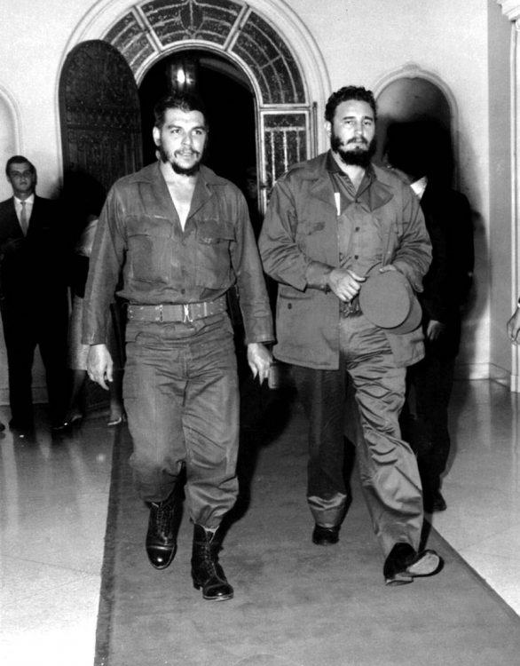 Че Гевара, Фидель Кастро