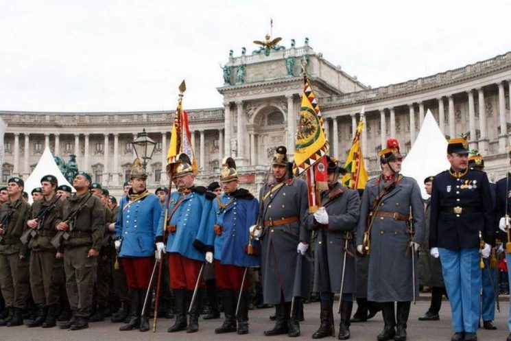 Фишки дня — 26 октября, Вена, Австрия, Хофбург