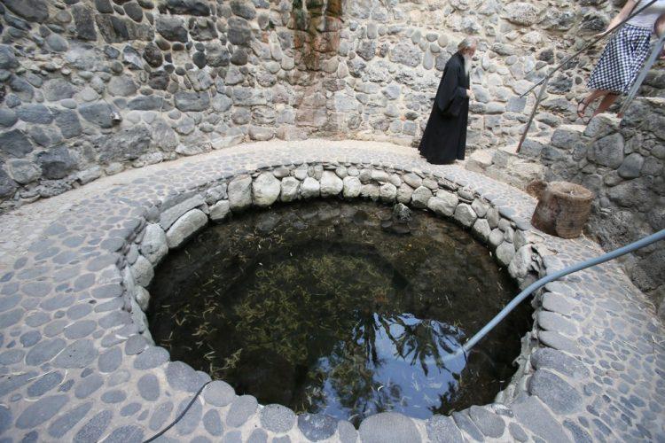 Галилея, подворье Марии Магдалины, источник