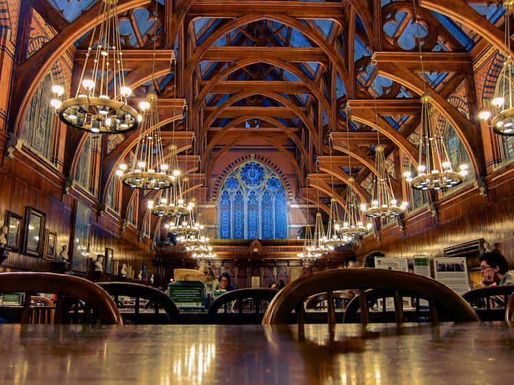 Гарвард, библиотека